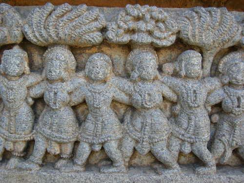 Conga Line, Hindu Style