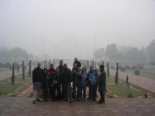 The Gang, the Fog, the Taj