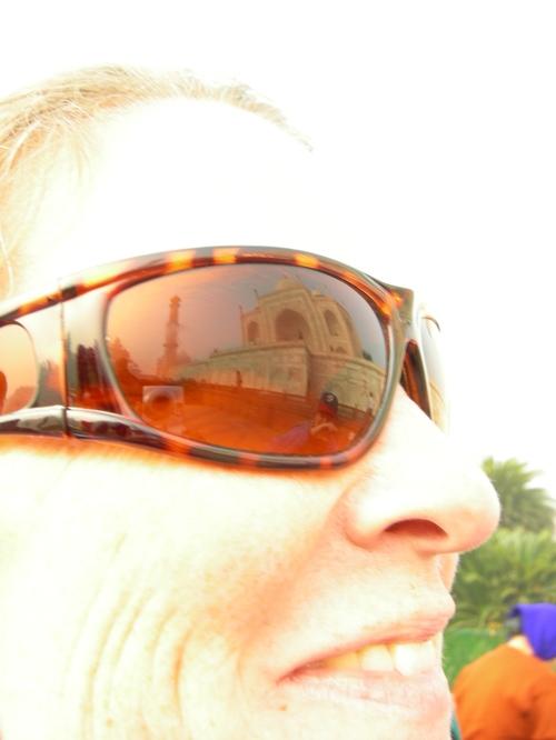 Reflecting the Taj