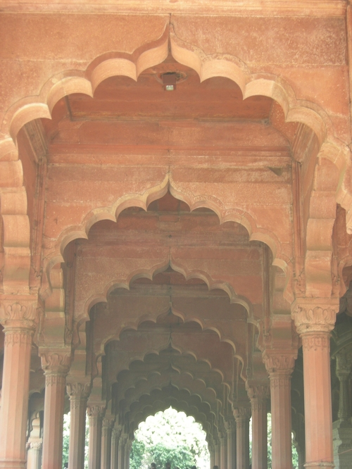 Red Fort Archways